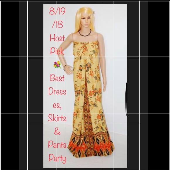 Aladdin Dresses | Malongsarong Knotted Gown | Poshmark